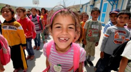 "UNHCR Launches ""Back to School"" Campaign in Support of Displaced Syrian Children"