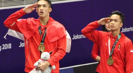 Jonatan Christie Wins Gold for Indonesia
