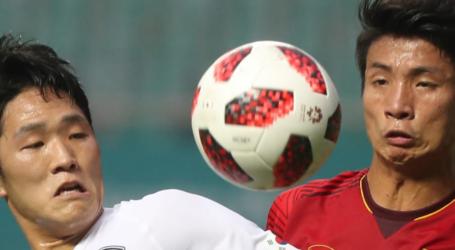 Korea (KOR) Advance to Football Finals