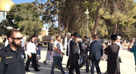 Awqaf: 3.809 Israeli Settlers Broke Into Al-Aqsa Mosque in July