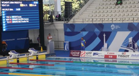 Two Palestinian Women's Athletes Join Sports Swiming Competition
