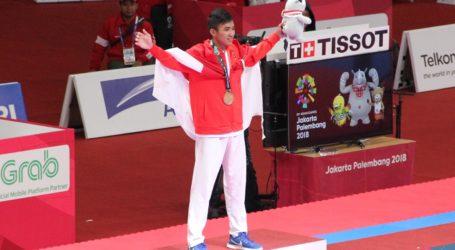 Indonesian Karateka Wins Gold in Men's Kumite -60kg