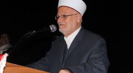 Israel Extends Ban on Shaykh Sabri Entry to Al-Aqsa