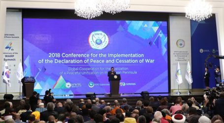 Conference for Global Cooperation to Achieve Peace and Cessation of War Held in Korea