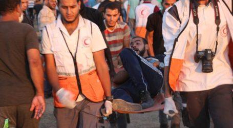 18 Palestinians Injured by Israeli Gunfire at Gaza Border