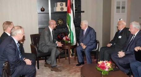 President Abbas Meets Belgian Prime Minister in New York