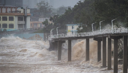 Giant Typhoon Mangkhut Causes Big Grief and Millions of Loss