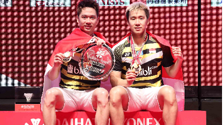 Japan Open 2018: Indonesia Wins One Title from Kevin / Marcus