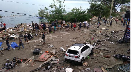 71 Foreigners in Quake's Central Sulawesi Evacuated to Jakarta