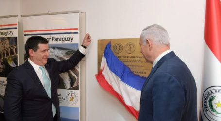 Paraguay Moves Its Embassy in Israel Back to Tel Aviv, Palestinians Welcome Step, Israel Upset