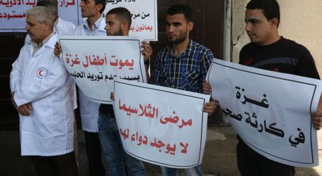 Gaza Patients Risk Losing Their Lives Due to Acute Medicine Crisis