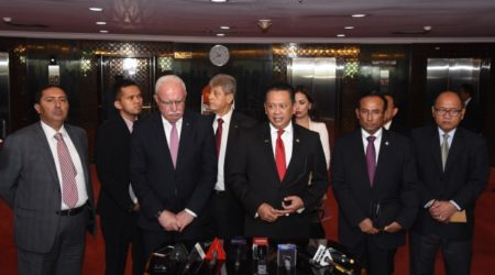 Indonesian House of Representatives Affirms Commitment to Support Palestinian  Independence
