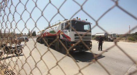 First Shipment of Qataer Fuel Enters Gaza