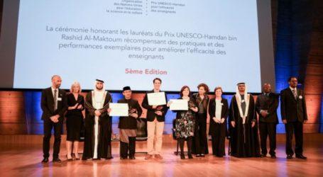 Three Laureates from Chile, Indonesia, UK Awarded UNESCO-Hamdan Prize