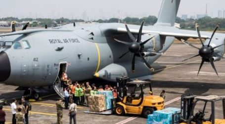 RAF Delivers 17.5 Tonnes of UK Aid to Indonesia Following Quake and Tsunami