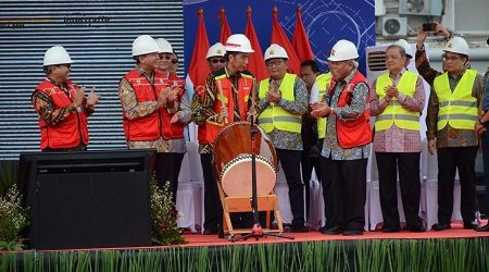 President Officially Opens Indonesia Infrastructure Week 2018