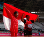 2018 Asian Para Games: Indonesia Wins Gold Medal from Para-Athletic