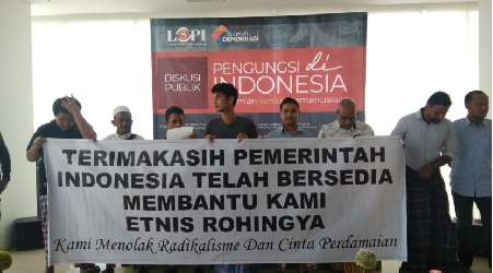 Rohingya Refugees Feel Really Treated as Human in Indonesia
