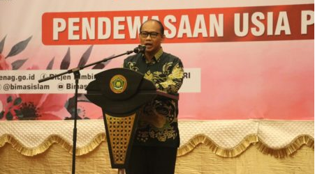 Indonesian Ministry of Religious Affairs Holds Marriage Age Maturity Campaign