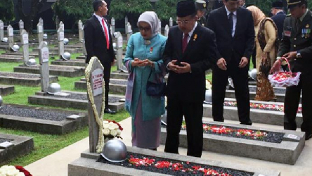 Vice President Leads Heroes' Day Commemoration