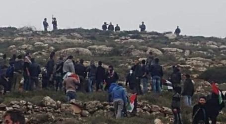 Palestinians-Israeli Forces Clashes Again in Nablus