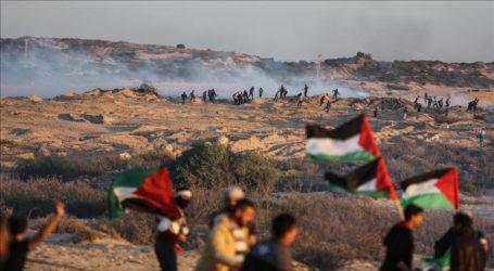 Israeli Forces Injure 46 Palestinians at Gaza Border