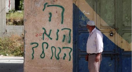 Jewish Settlers Vandalize Village Mosque in West Bank