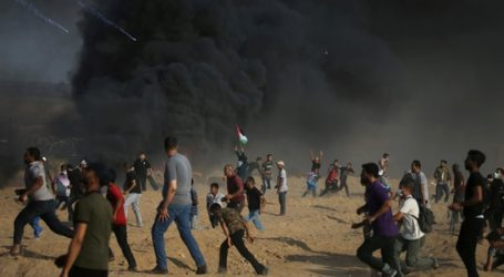 Gazans Converge Along Israel Buffer Zone; 3 Killed