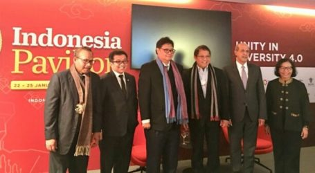 Indonesia Joints 2019 World Economic Forum in Davos