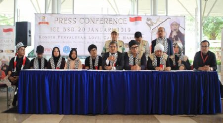 Indonesian Artists and SPM to Build School Building For Palestinians