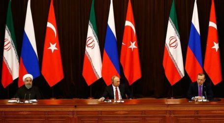 Turkish, Russian, Iranian Leaders Meet in Syria Summit