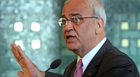 Israel, US to Destroy Palestinian Authority: Saeb Erekat