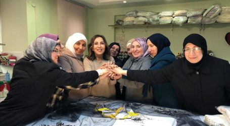 Syrian Refugees' Fabric Showcased at London