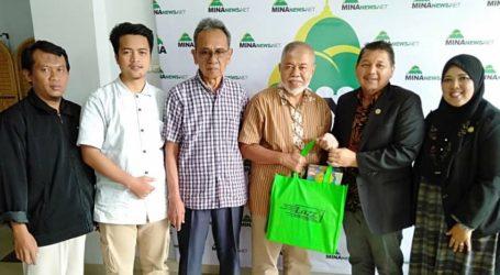 Malaysian Islamic Marketing and Trade Board Visits MINA News Agency