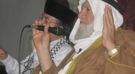 Jama'ah Muslimin (Hizbullah) Express Condolences of Passing Away Al-Aqsa Preacher