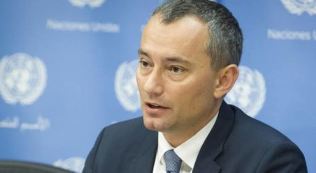 Mladenov: 3.500 Temporary jobs for Citizens Signed in Gaza