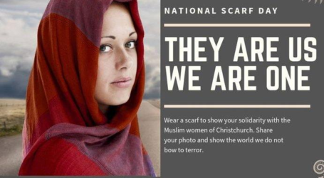 Friday Hijab Movement Colouring Cities in New Zealand