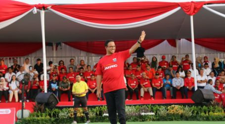 "Governor Anies Inaugurates ""Kick Off"" Jakarta International Stadium's Construction"