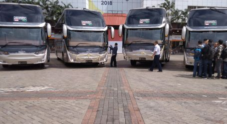 First Time, Indonesia Exports Buses to Bangladesh