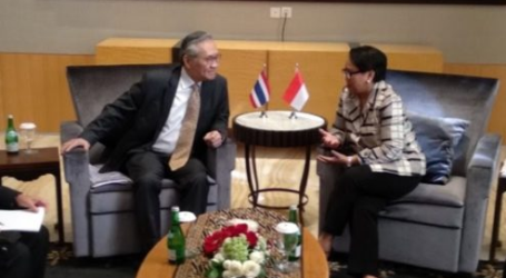 Thailand- RI FM to Discuss Rohingya Refugees