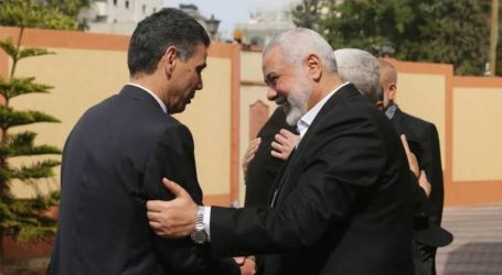 Egyptian Security Delegation Hold Ceasefire's Meeting in Gaza