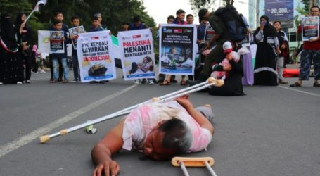 Indonesia Holds Solidarity Action to Commemorate GMR in Palestine