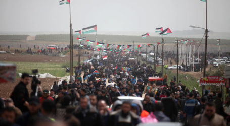 Hundreds of Palestinians Join the 80th Friday Action