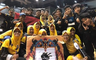 Indonesian Madrasah Technonatura Takes Part in 2019 Robot World Championship