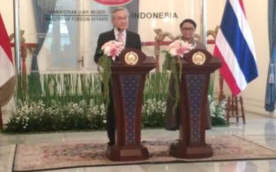Thai-Indonesian FM Meet in Jakarta
