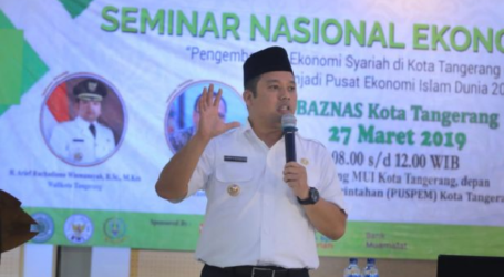 Baznas Appoints Tangerang as Sharia-Based Economy City