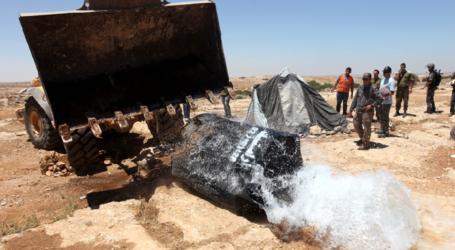 Israeli Bulldozers Destroy Water Wells in Southern Hebron