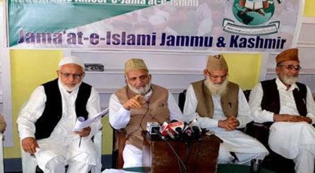 India Government Bans Jamaat-e-Islami Jammu and Kashmir