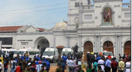 Sri Lanka Imposes Curfew after at least 207 Killed in Bomb Attacks