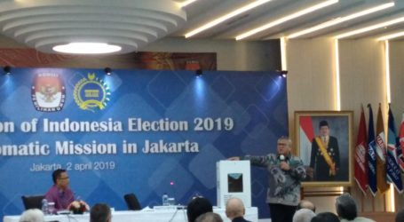 As 170 Ambassadors Attend 2019 Indonesia Election Dissemination